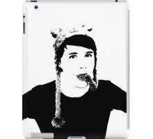 Black and White Dan Howell iPad Case/Skin