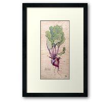 Heart Beet Framed Print