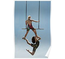 Trapeze Duo Poster