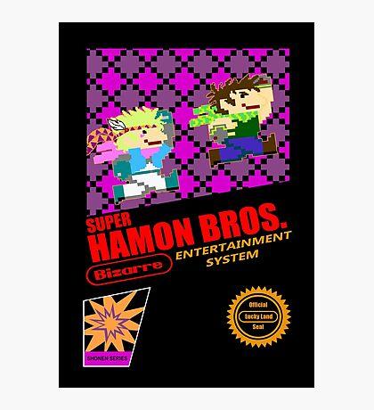 Super Hamon Bros Photographic Print