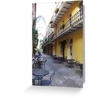 New Orleans Streetview Greeting Card