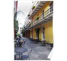 New Orleans Streetview Poster