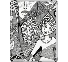 denthe doodle girl ipadcase iPad Case/Skin