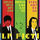 Pulp Fiction - Vibrating Colors by Katherine Clarke