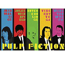 Pulp Fiction - Vibrating Colors Photographic Print