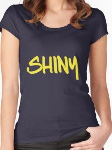 Shiny! Women's Fitted Scoop T-Shirt
