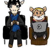 Sherlock and John by Katherine Clarke