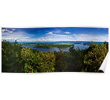 Lake Champlain as Seen from Mt Defiance Poster