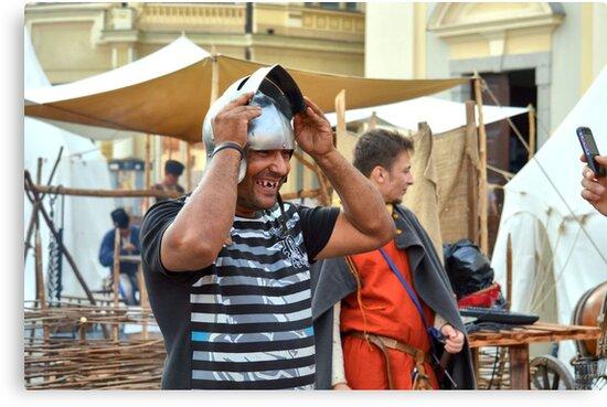 I'm Prettier With A Helmet, Am I? by ivDAnu
