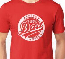 100 percent PURE SUPER DAD White Unisex T-Shirt