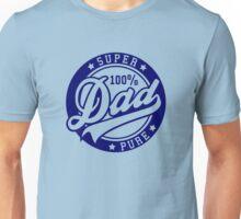 100 percent PURE SUPER DAD Navy Unisex T-Shirt