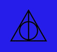 The Deathly Hallows - Blue by Emma Davis