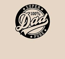 100 percent PURE SUPER DAD Black Unisex T-Shirt