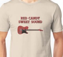 Red Candy Sweet Sound Guitar Unisex T-Shirt