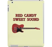 Red Candy Sweet Sound Guitar iPad Case/Skin