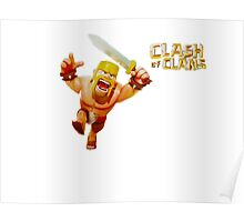 Clash of Clans Official T-Shirt Poster