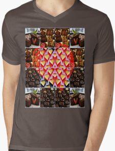 love triangle Mens V-Neck T-Shirt