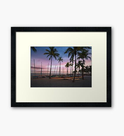 Fort Lauderdale Beach Framed Print