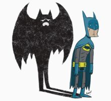 Sad Batman is sad. by thechrishaley