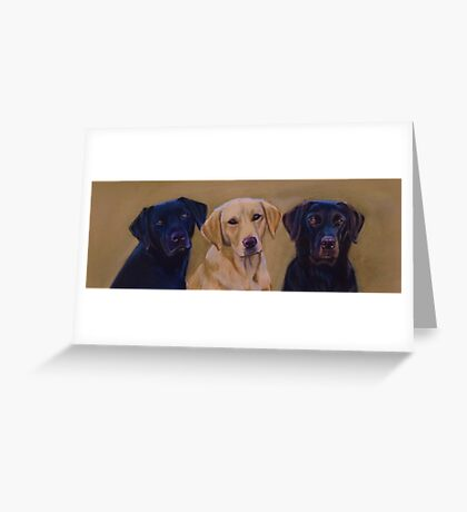 The Ropehall Labradors Greeting Card