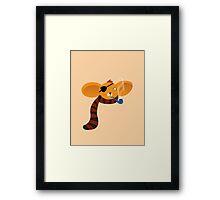 Smoking Koala Framed Print