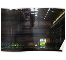 Steelwork Factory Poster