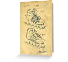 Hockey Skates Greeting Card