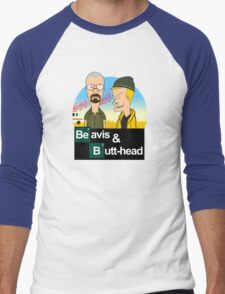 Breaking Beavis  Men's Baseball ¾ T-Shirt