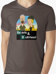 Breaking Beavis  Mens V-Neck T-Shirt