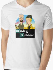 Breaking Beavis  Mens V-Neck T-Shirt
