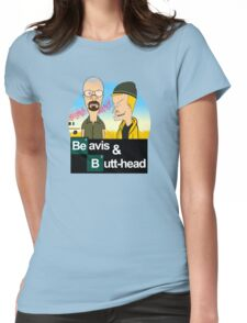 Breaking Beavis  Womens Fitted T-Shirt