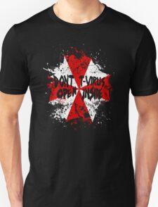 Don't Open, T-Virus Inside T-Shirt