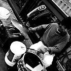 The Bridge Drummer by Ben Yamamoto