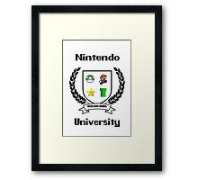 Nintendo University Framed Print