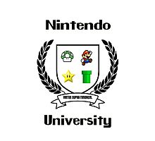 Nintendo University Photographic Print