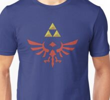Vintage Look Zelda Link Hylian Shield Graphic Unisex T-Shirt