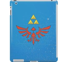 Vintage Look Zelda Link Hylian Shield Graphic iPad Case/Skin