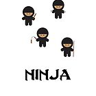 Ninja's  by LittleRedTrike