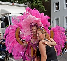 A million people attended the Notting Hill carnival in london by Keith Larby
