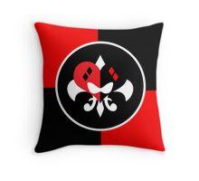 Harley Quinn Logo Symbol Throw Pillow