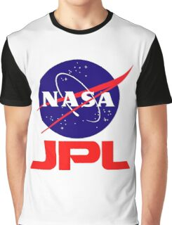 NASA & JPL Together Graphic T-Shirt