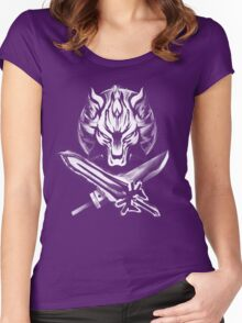 Ultima Buster  Women's Fitted Scoop T-Shirt