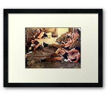 Time to reflect.  Framed Print