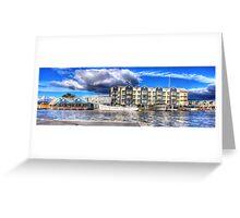 Seaport Panorama Greeting Card