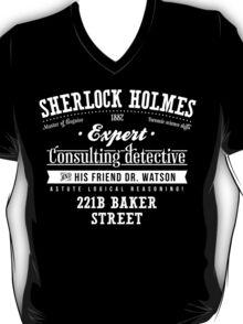 Sherlock Holmes Ad -Light- T-Shirt