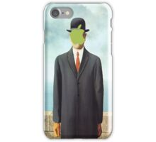 Magritte_apple iPhone Case/Skin
