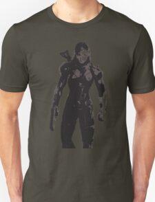 Minimalist Female Shepard from Mass Effect T-Shirt