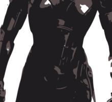 Minimalist Female Shepard from Mass Effect Sticker