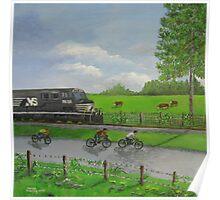 Norfolk Southern Railroad Poster