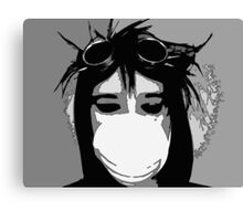 Goggles and Mask Canvas Print